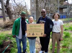 Anton Seals Jr, Yvette Myoho (Real Men Cook), and Martha Boyd
